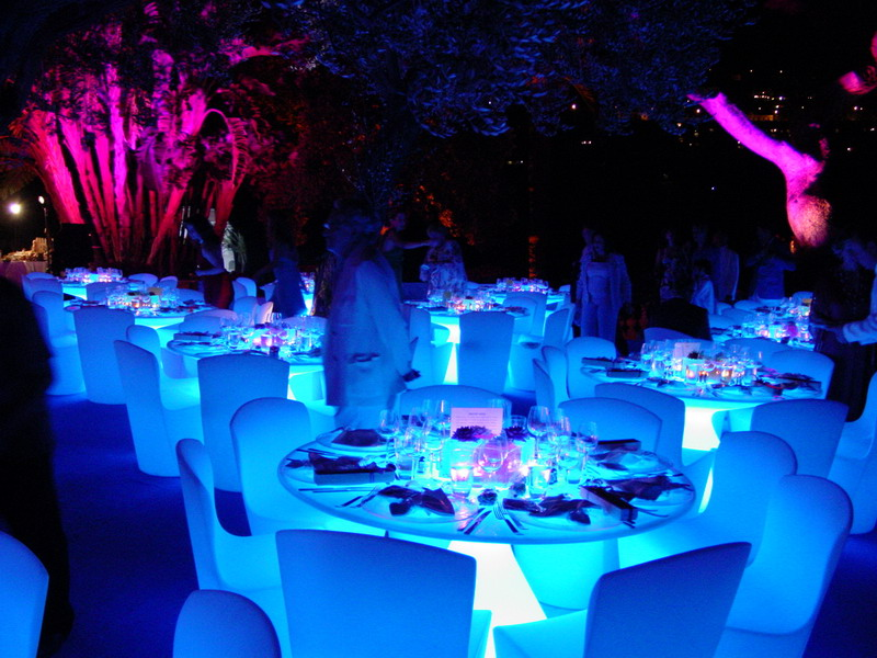 Wedding Decoration Pictures, starlight nuit