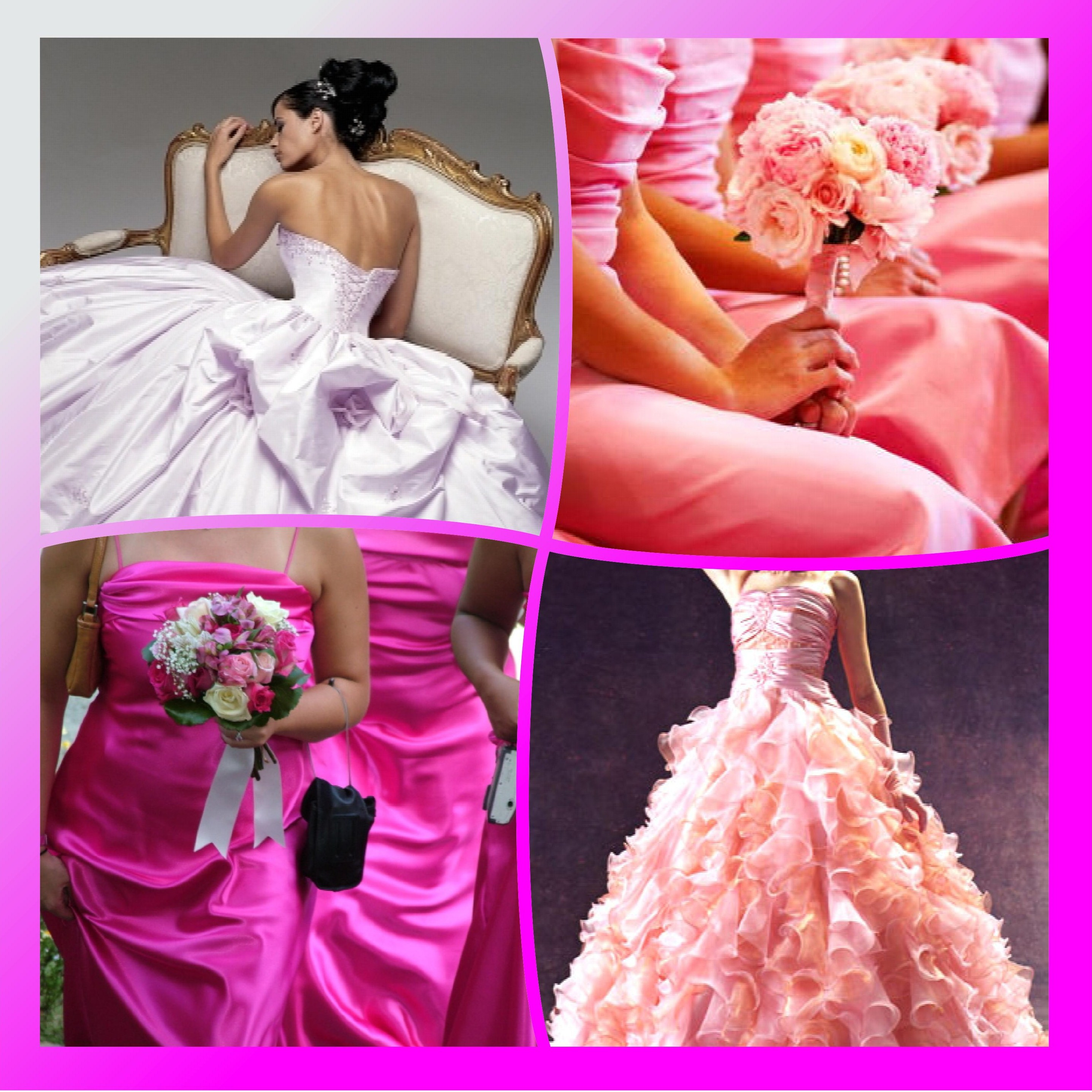 Wedding Gowns In Pink: The Most Beautiful Pink Wedding I've Ever Seen