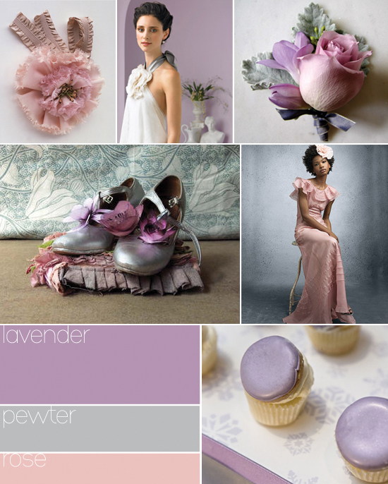 Sophisticated lavender color for your wedding decoration