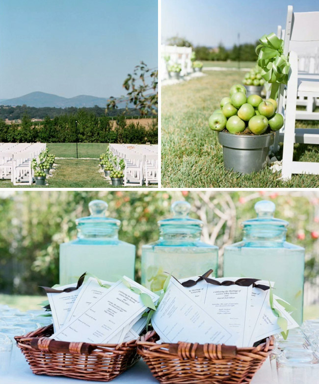 Dark Brown And Light Green Wedding Decoration Weddings On The French Riviera Amp Provence