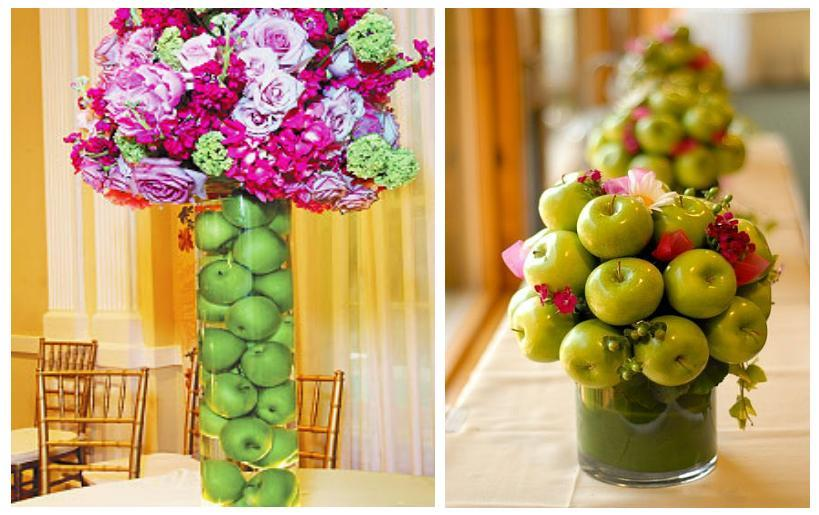 Wedding decoration apples image collections wedding dress wedding decoration apples choice image wedding dress decoration apple wedding use fruits for your decoration weddings junglespirit Gallery