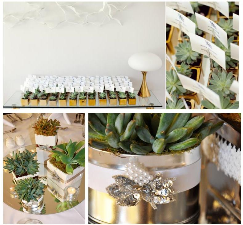 cactus wedding decoration why not weddings on the. Black Bedroom Furniture Sets. Home Design Ideas