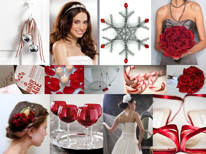 red and silver wedding decoration � weddings on the french