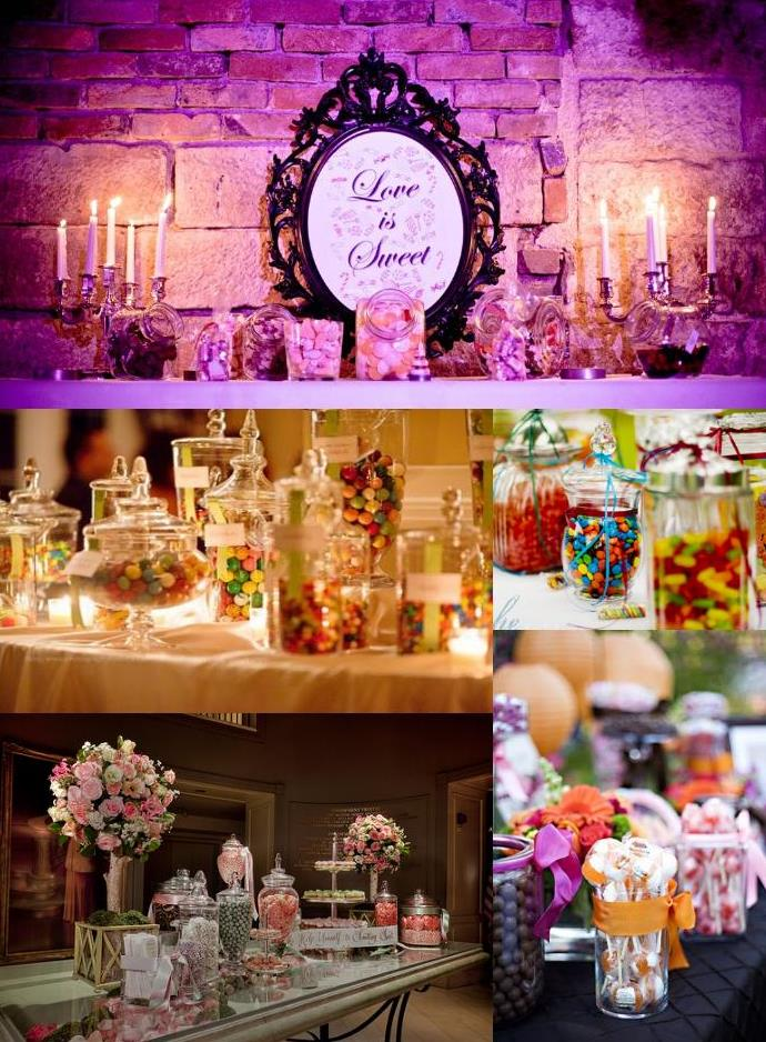wedding candy bar decoration weddings on the french riviera provence. Black Bedroom Furniture Sets. Home Design Ideas
