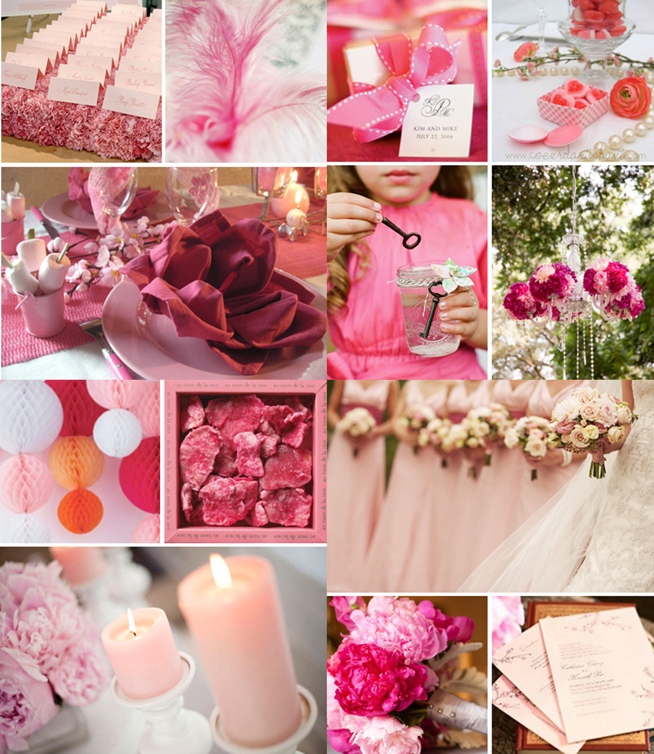 Dare pink! | Weddings on the French Riviera & Provence