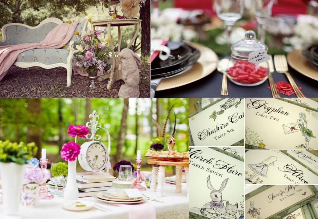 Alice In Wonderland Wedding Decoration Weddings On The French