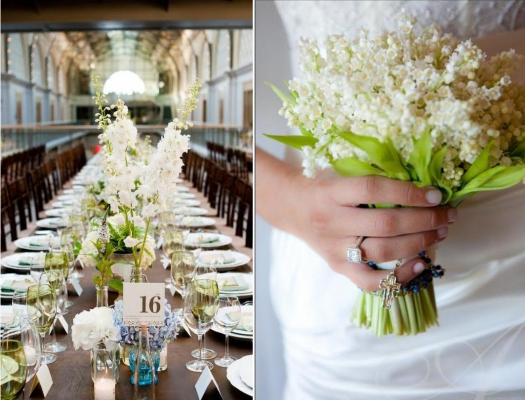 Lily Of The Valley Wedding Decoration