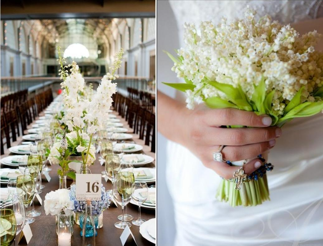 Lily Of The Valley Wedding Decoration Weddings On The French