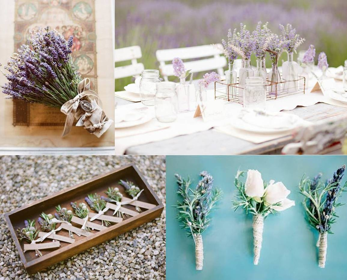 Mood board lavender wedding decoration weddings on the - Decoracion para bodas vintage ...