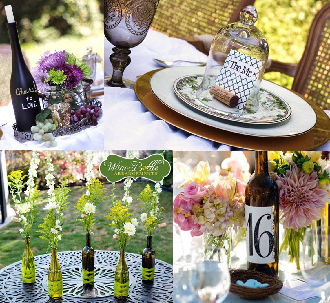 Inspirations For A Vineyard Wedding Decoration