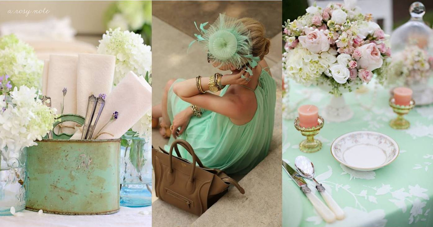 Wedding Decoration Colours 2013 Weddings Trends 1 Mint Color Everywhere Weddings On The