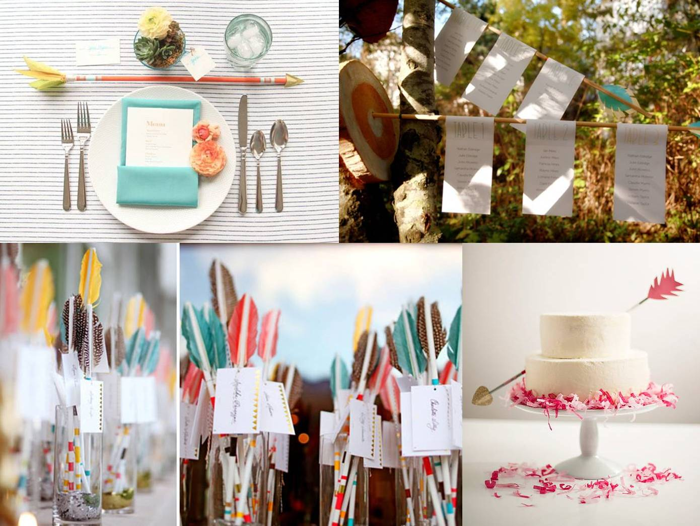 Arrow for your wedding decoration | Weddings on the French Riviera