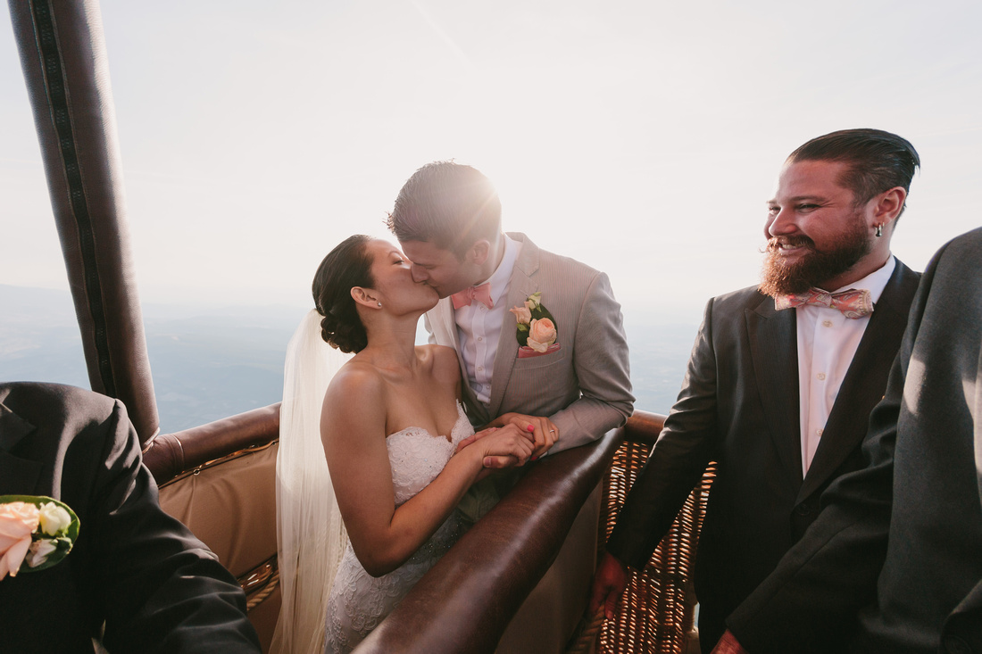 incredible wedding ceremony in a hot air balloon by ehc and weddingsonthefrenchriviera (7)