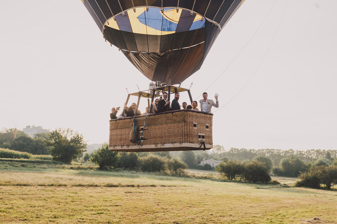 incredible wedding ceremony in a hot air balloon by weddings abroad experts 2