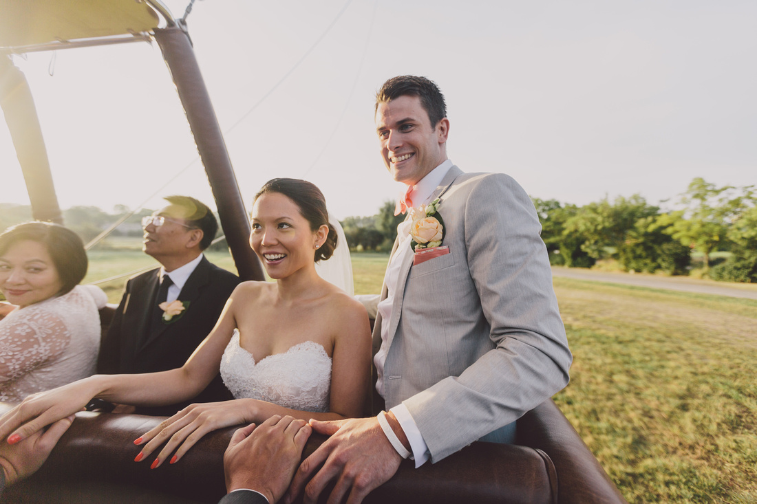 incredible wedding ceremony in a hot air balloon by weddingsonthefrench riviera and ehc  (3)