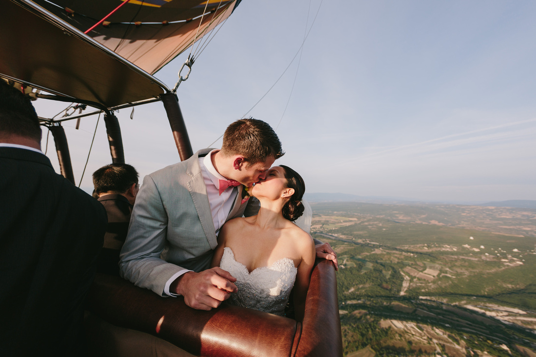 incredible wedding ceremony in a hot air balloon by weddingsonthefrench riviera and ehc  (5)