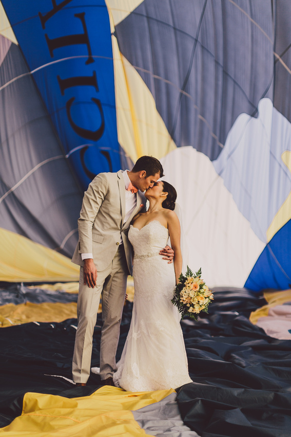 incredible wedding ceremony in a hot air balloon by weddingsonthefrench riviera and ehc  (6)