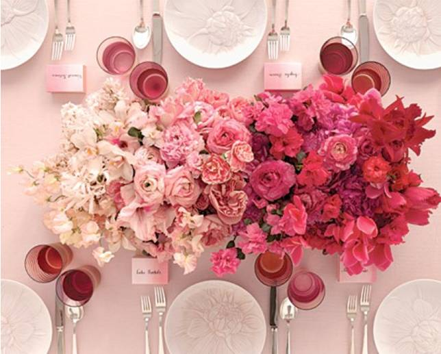 OMBRE WEDDING DECO TRENDS 2014