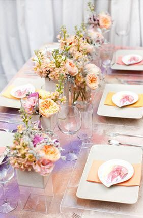 water color wedding theme 1