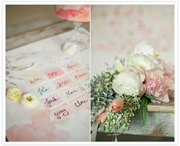 water color wedding theme 7