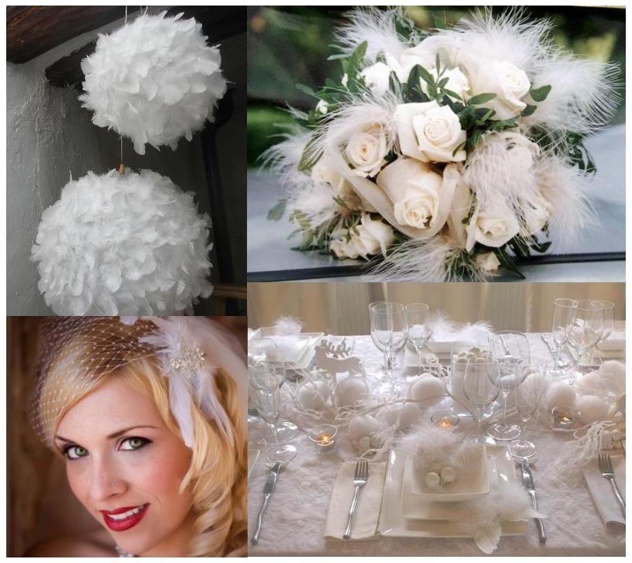 As A Matter Of Fact I Suggest To Ter Feathers On The Wedding Tables Or Set Up Ball Feather You Can See What About