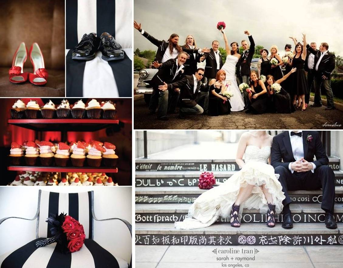Rock N Roll Wedding Decoration Weddings On The French Riviera